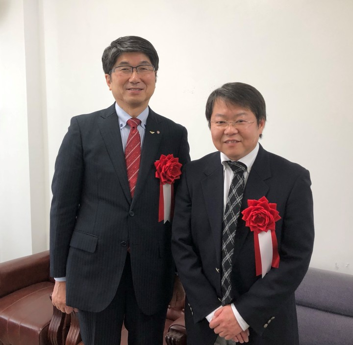 長崎市長より地域支援事業への協力依頼を受ける